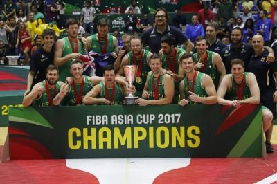 亞洲籃球新霸主!澳洲首度參加亞洲盃即大勝伊朗奪冠