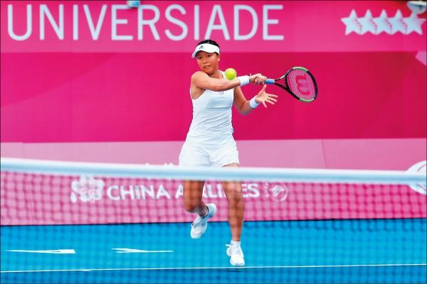 世大運》李家姊弟單打晉級 網球精靈今亮相