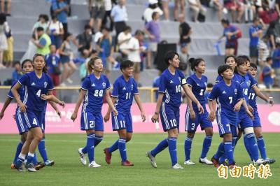 世大運》台灣女足逼平南韓 無緣晉級八強