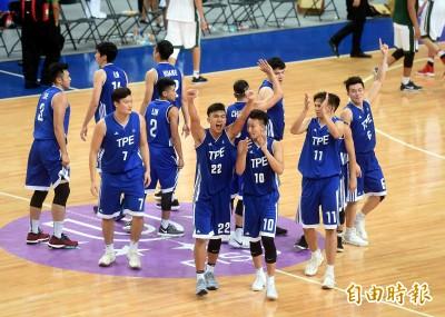 世大運》感動一戰!台灣男籃2分險勝墨西哥 二連勝到手