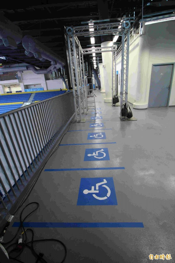 場館無障礙席放計分板、垃圾桶 世大運:將調整