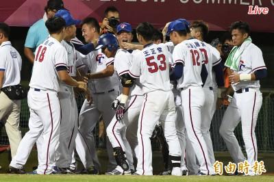 世大運棒球Live》台韓大戰開打 林安可首局飆2K