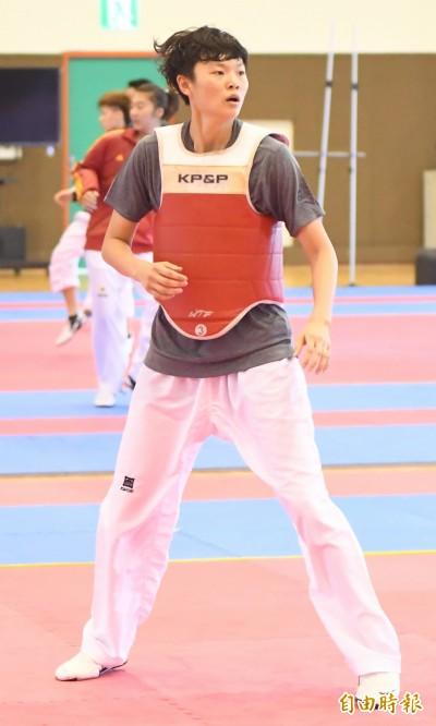 世大運》台灣跆拳道拚獎牌開胡 奧運名將莊佳佳晉級8強
