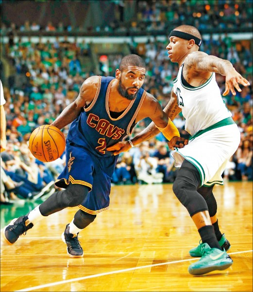 NBA》厄文改穿綠衫 矮湯連線大帝