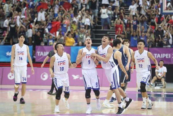 台灣男籃贏南韓 球員靠網路酸民激勵自己