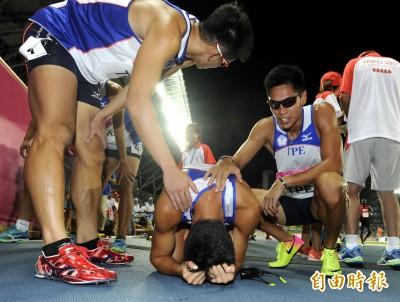 世大運》男子1600公尺接力 台灣隊接棒出錯遭取消資格