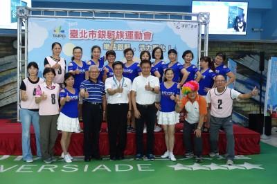 北市銀髮族運動會移回台北田徑場 10月21日登場