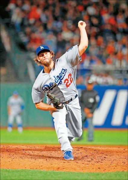 MLB》克蕭出手止11連敗 道奇晉季後賽