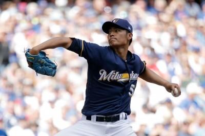 MLB》王維中後援飆154公里 只投1人次被敲安就退場