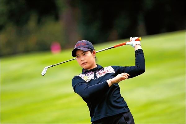 LPGA Evian錦標賽》第二回合抓3鳥 茉莉雅竄首位