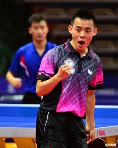 桌球》亞洲盃台韓大戰 陳建安不敵李相秀