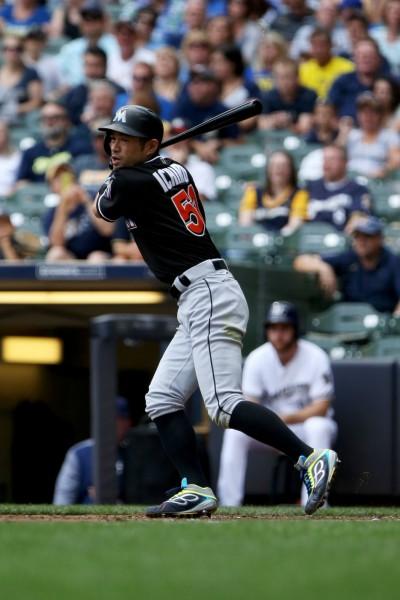 MLB》鈴木一朗先發敲二壘安附打點 有望寫一項連17年紀錄