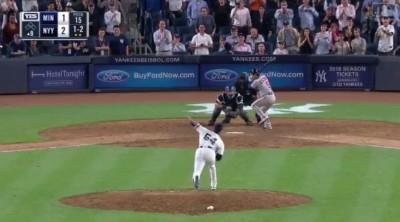 MLB》查普曼救火1.2局 最後1球飆本季最速三振(影音)