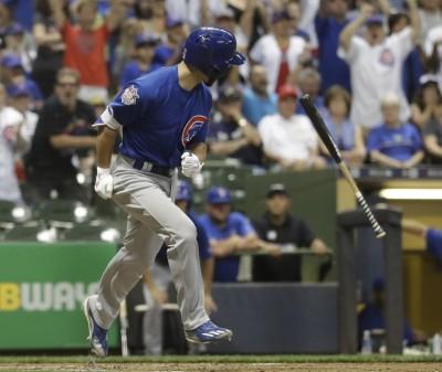 MLB》拉史特拉獲關鍵保送 小熊延長賽擊敗釀酒人