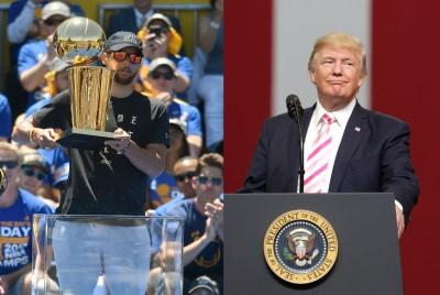 NBA》柯瑞沒意願讓川普不爽 冠軍勇士不進白宮了