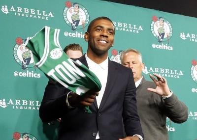 NBA》綠衫軍新成員 厄文:迫不及待要體驗波士頓生活