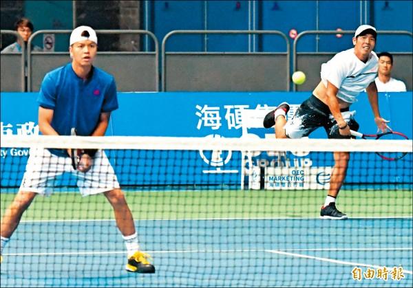 海碩盃男網挑戰賽》莊吉生逆轉南韓 我雙打雙晉8