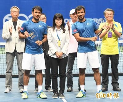 網球》挑戰賽雙打之王  泰國酸菜兄弟海碩盃連霸愛高雄