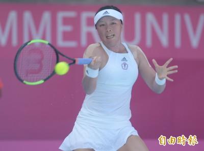 香港女網賽》世大運女單銀牌李亞軒再出發 首輪逆轉受挫