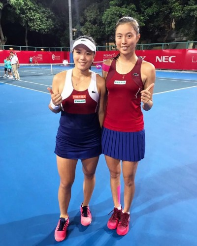 網球》詹家姊妹合拍默契佳 香港女網連勝闖4強