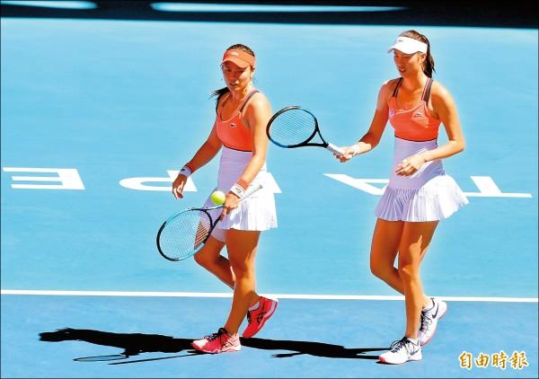 香港女網賽》雙詹直落2 闖進4強戰