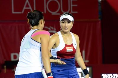 網球》詹家姊妹搶10射日 香港衛冕差最後一步