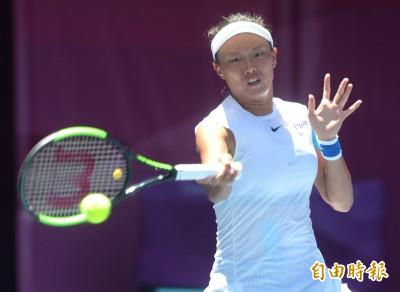 網球》張凱貞無緣香港女網決賽 詹家姊妹週日與中國金花爭后