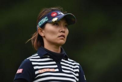 高球》富士通女子高球賽第2回合 盧曉晴躍居第2