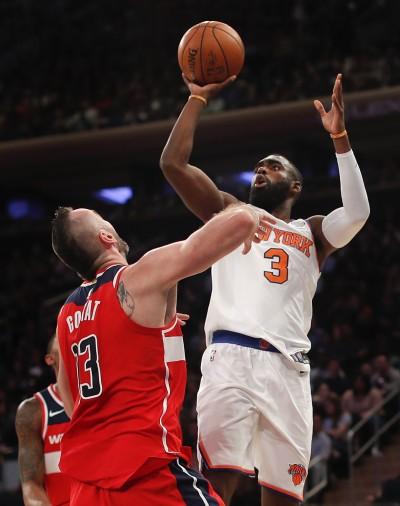 NBA》聯盟唯一未嚐勝果 尼克熱身賽全敗收場