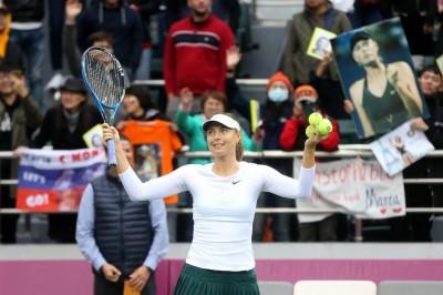 網球》莎拉波娃天津女網封后 睽違29個月再舉金盃