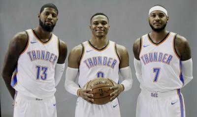 NBA》雷霆三巨頭壓哨球誰投?  知名球評這樣說