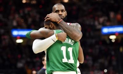 NBA》盡釋前嫌!厄文賽後與詹姆斯相擁(影音)
