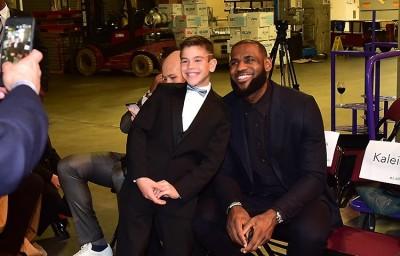 NBA》關懷癌症病童 詹皇感性告白