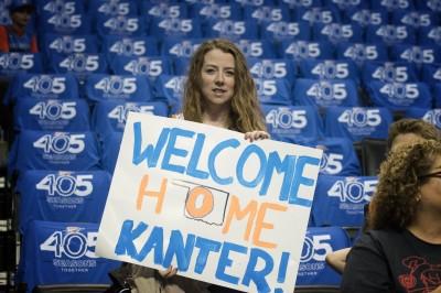 NBA》開季首戰老東家 坎特表示有點尷尬