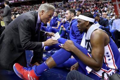 NBA》膝傷狀況良好 恩比德有望挑戰本季首場背靠背