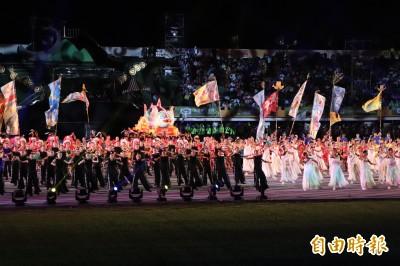 全運會開幕 總統蔡英文、行政院長賴清德出席典禮