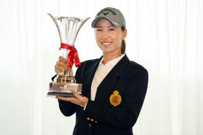 日本LPGA巡迴賽》颱風來亂 上田桃子3回合奪冠獎金打折