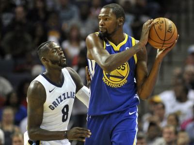 NBA》勇士失誤過多 杜蘭特:我對自己很生氣
