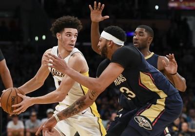 NBA》球哥手感冰冷仍破紀錄 鵜鶘雙塔踢館奪首勝