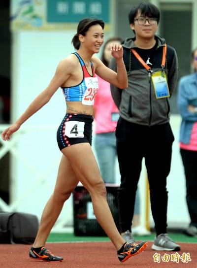 全運會》「跨欄正妹」謝喜恩飆近期最佳成績 贏得二連霸