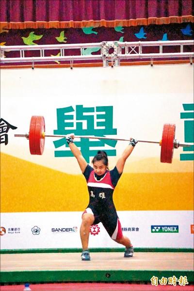 全運會》許淑淨加持 江念欣58公斤級鍍金