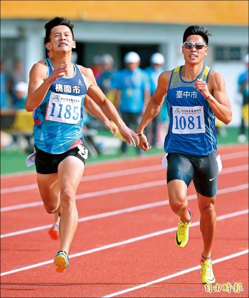 全運會》終「傑」男子400霸業 楊隆翔金喜