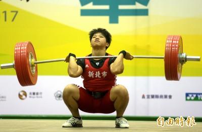 全運會》與郭婞淳同門 世大運舉重金牌洪萬庭奪女子69公斤金牌