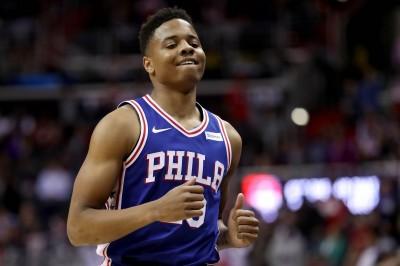 NBA》七六人狀元郎肩傷加劇 無法舉起手臂投籃