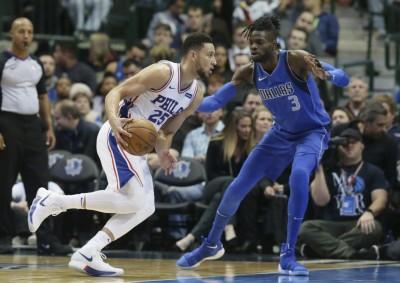NBA》西蒙斯刷下生涯新高分 同恩比德率隊驚險奪勝