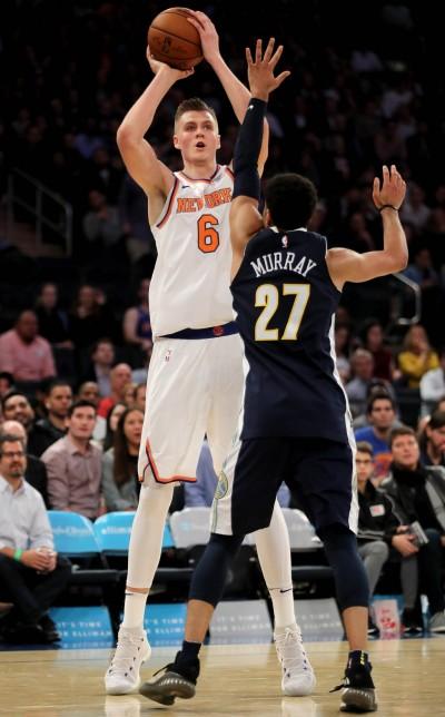 NBA》尼克真一哥! 波辛傑斯飆生涯新高38分 率隊奪3連勝