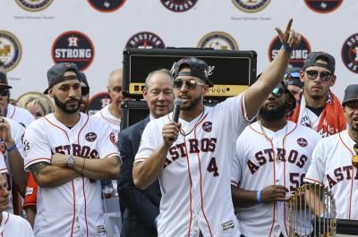 MLB》太空人奪冠是否去白宮? 世界大賽MVP春哥有話要說