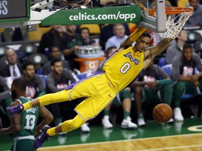 NBA》應該是前5順位 新秀庫茲瑪開心來到湖人