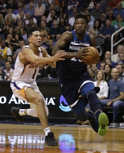 NBA》太陽雙將合力攻下70分 灰狼急凍遭逆轉吞二連敗