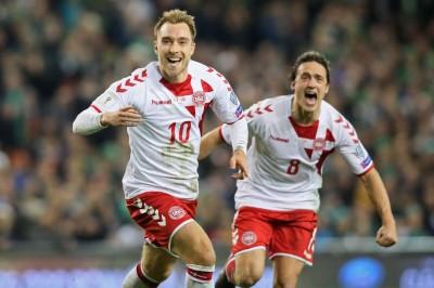 足球》艾利克森上演帽子戲法 丹麥第五度闖進世界盃